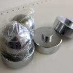 Steel ball and support for models of load cells QS-A 10-30t