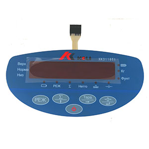 Spare parts for weighing indicators